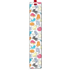Funny Cute Colorful Cats Pattern Large Book Marks