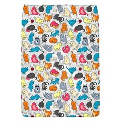 Funny Cute Colorful Cats Pattern Flap Covers (s)