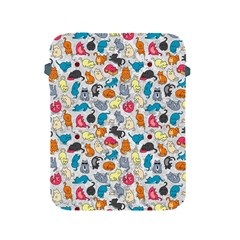 Funny Cute Colorful Cats Pattern Apple Ipad 2/3/4 Protective Soft Cases
