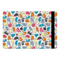 Funny Cute Colorful Cats Pattern Apple Ipad Pro 10 5   Flip Case