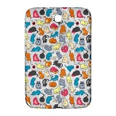 Funny Cute Colorful Cats Pattern Samsung Galaxy Note 8 0 N5100 Hardshell Case