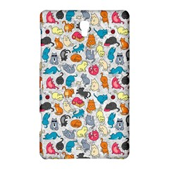 Funny Cute Colorful Cats Pattern Samsung Galaxy Tab S (8 4 ) Hardshell Case