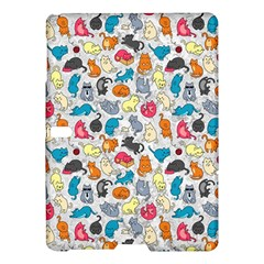 Funny Cute Colorful Cats Pattern Samsung Galaxy Tab S (10 5 ) Hardshell Case