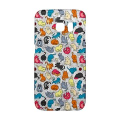 Funny Cute Colorful Cats Pattern Samsung Galaxy S6 Edge Hardshell Case