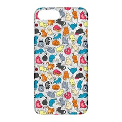 Funny Cute Colorful Cats Pattern Apple Iphone 7 Plus Hardshell Case