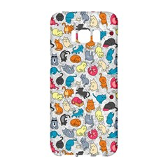Funny Cute Colorful Cats Pattern Samsung Galaxy S8 Hardshell Case