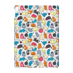 Funny Cute Colorful Cats Pattern Apple Ipad Pro 10 5   Hardshell Case by EDDArt