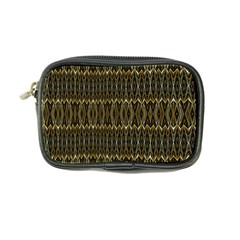 Stretched Gold And Black Design By Kiekiestrickland  Coin Purse