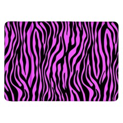 Zebra Stripes Pattern Trend Colors Black Pink Samsung Galaxy Tab 8 9  P7300 Flip Case by EDDArt