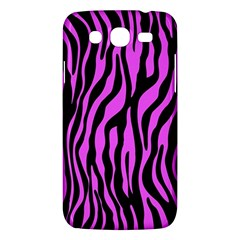Zebra Stripes Pattern Trend Colors Black Pink Samsung Galaxy Mega 5 8 I9152 Hardshell Case  by EDDArt