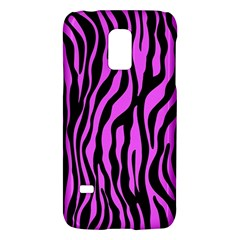 Zebra Stripes Pattern Trend Colors Black Pink Samsung Galaxy S5 Mini Hardshell Case  by EDDArt