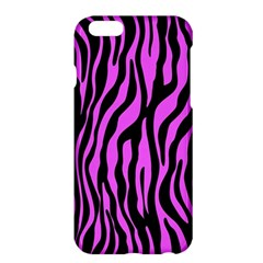 Zebra Stripes Pattern Trend Colors Black Pink Apple Iphone 6 Plus/6s Plus Hardshell Case by EDDArt