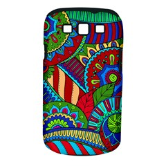 Pop Art Paisley Flowers Ornaments Multicolored 2 Samsung Galaxy S Iii Classic Hardshell Case (pc+silicone) by EDDArt