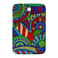 Pop Art Paisley Flowers Ornaments Multicolored 2 Samsung Galaxy Note 8 0 N5100 Hardshell Case  by EDDArt