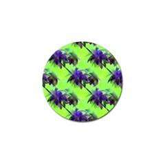 Palm Trees Lime In The Coconut Golf Ball Marker (10 Pack)
