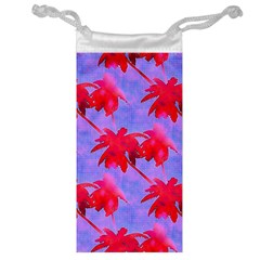 Palm Trees Neon Nights Jewelry Bags