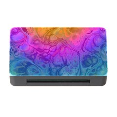 Fractal Batik Art Hippie Rainboe Colors 1 Memory Card Reader With Cf by EDDArt