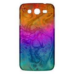 Fractal Batik Art Hippie Rainboe Colors 1 Samsung Galaxy Mega 5 8 I9152 Hardshell Case  by EDDArt