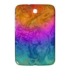 Fractal Batik Art Hippie Rainboe Colors 1 Samsung Galaxy Note 8 0 N5100 Hardshell Case  by EDDArt