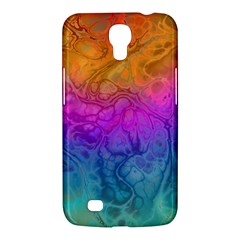 Fractal Batik Art Hippie Rainboe Colors 1 Samsung Galaxy Mega 6 3  I9200 Hardshell Case by EDDArt