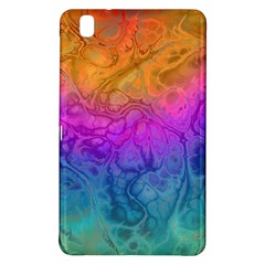Fractal Batik Art Hippie Rainboe Colors 1 Samsung Galaxy Tab Pro 8 4 Hardshell Case by EDDArt