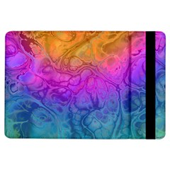 Fractal Batik Art Hippie Rainboe Colors 1 Ipad Air Flip by EDDArt