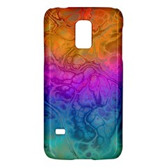 Fractal Batik Art Hippie Rainboe Colors 1 Samsung Galaxy S5 Mini Hardshell Case  by EDDArt