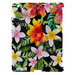 Tropical Flowers Butterflies 1 Apple Ipad 3/4 Hardshell Case (compatible With Smart Cover) by EDDArt