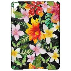 Tropical Flowers Butterflies 1 Apple Ipad Pro 9 7   Hardshell Case by EDDArt