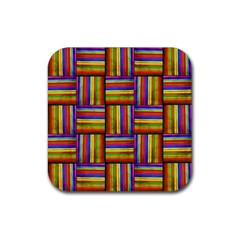 7 Rubber Square Coaster (4 Pack)