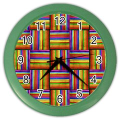 7 Color Wall Clock