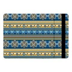 Vintage Border Wallpaper Pattern Blue Gold Apple Ipad 9 7 by EDDArt