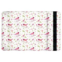 Watercolor Birds Magnolia Spring Pattern Ipad Air Flip by EDDArt