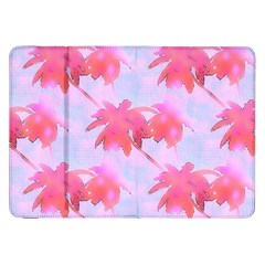 Palm Trees Paradise Pink Pastel Samsung Galaxy Tab 8 9  P7300 Flip Case by CrypticFragmentsColors