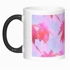 Palm Trees Paradise Pink Pastel Morph Mugs by CrypticFragmentsColors