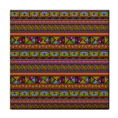 Traditional Africa Border Wallpaper Pattern Colored 2 Face Towel by EDDArt