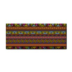 Traditional Africa Border Wallpaper Pattern Colored 2 Hand Towel by EDDArt