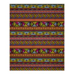 Traditional Africa Border Wallpaper Pattern Colored 2 Shower Curtain 60  X 72  (medium)  by EDDArt