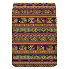 Traditional Africa Border Wallpaper Pattern Colored 2 Flap Covers (s)  by EDDArt