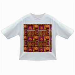 Traditional Africa Border Wallpaper Pattern Colored 3 Infant/toddler T Shirts