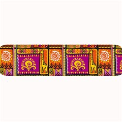 Traditional Africa Border Wallpaper Pattern Colored 3 Large Bar Mats