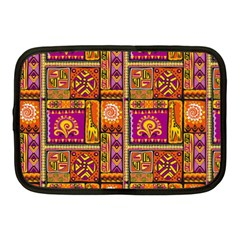 Traditional Africa Border Wallpaper Pattern Colored 3 Netbook Case (medium)