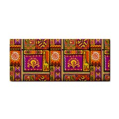 Traditional Africa Border Wallpaper Pattern Colored 3 Hand Towel
