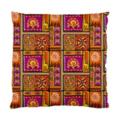 Traditional Africa Border Wallpaper Pattern Colored 3 Standard Cushion Case (two Sides)