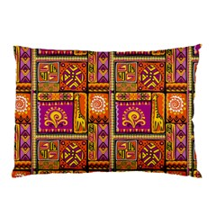 Traditional Africa Border Wallpaper Pattern Colored 3 Pillow Case