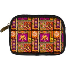 Traditional Africa Border Wallpaper Pattern Colored 3 Digital Camera Cases