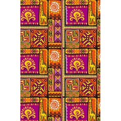 Traditional Africa Border Wallpaper Pattern Colored 3 5 5  X 8 5  Notebooks