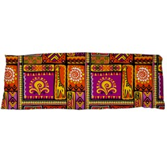 Traditional Africa Border Wallpaper Pattern Colored 3 Body Pillow Case Dakimakura (two Sides)