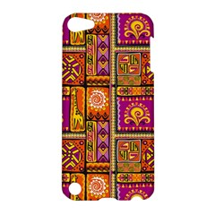 Traditional Africa Border Wallpaper Pattern Colored 3 Apple Ipod Touch 5 Hardshell Case