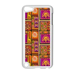 Traditional Africa Border Wallpaper Pattern Colored 3 Apple Ipod Touch 5 Case (white)